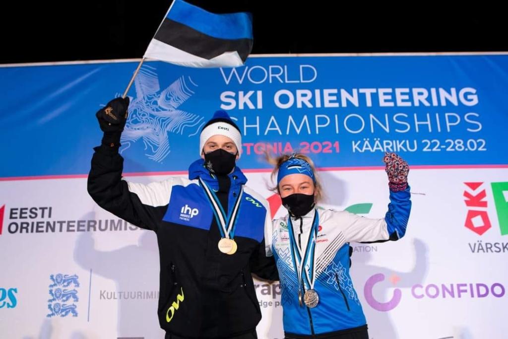Olle Ilmar Jaama ja Daisy Kudre - Euroopa ja maailmameister
